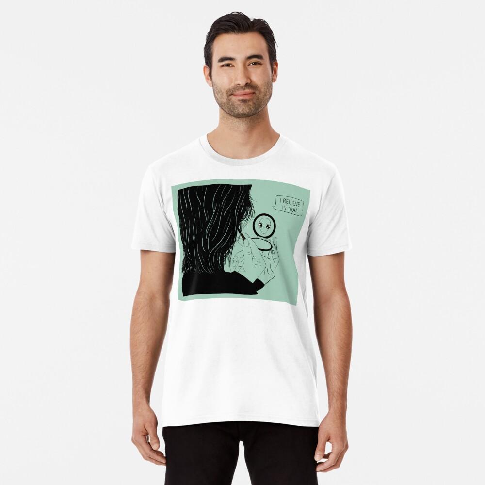 I Believe In You Men's Premium T-Shirt Front