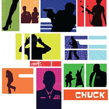 Chuck - Archer style Squares by blurbox