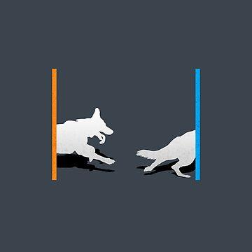Portal Doggo by CCCDesign