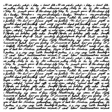 Handwriting Text (edwardian) by timothybeighton