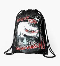 Happy halloween! King Boo pattern Drawstring Bag