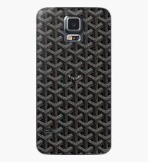 Black goyard Case/Skin for Samsung Galaxy