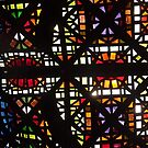 Stain Glass Ceiling by Joan Wild