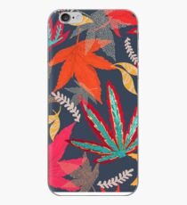 Autumn Leaves Japanese Acer iPhone Case