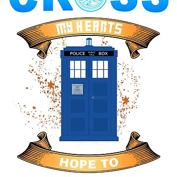 Cross My Heart Doctor Who Shirt For Mens Womens Youth by danielnguyen31