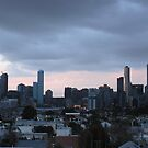 Melbourne at Sunset by Joan Wild