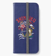 Shinjuku Stil iPhone Flip-Case/Hülle/Klebefolie