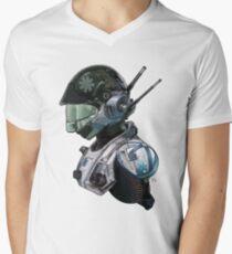 SPACE PILOT 1 Men's V-Neck T-Shirt