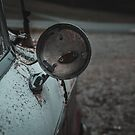 Rusty Classic Car Side Mirror by TheWaywardVixen