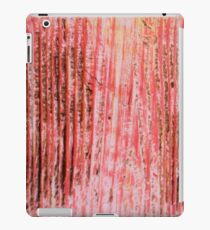 Red Lines iPad Case/Skin