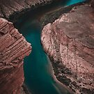 Colorado River in the Horseshoe Bend by TheWaywardVixen