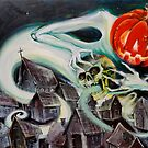 Spreading the Spirit of Hallowe'en  by David Irvine