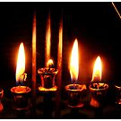Candles, Hanukkah cards  by PicsByMi