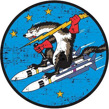 USAF Wild Weasel - Grunge Style by pzd501