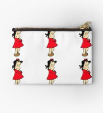 Little Lulu Posing Zipper Pouch
