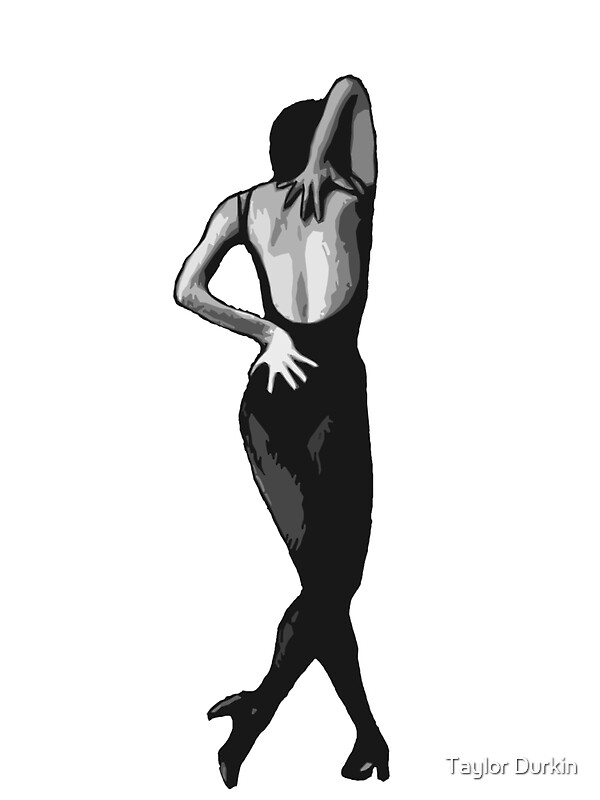Quot Classic Fosse Quot Stickers By Taylor Durkin Redbubble