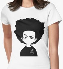 The Boondocks Huey Women's Fitted T-Shirt