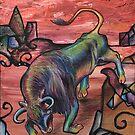 Iron Bull by Kyra C. Kalageorgi