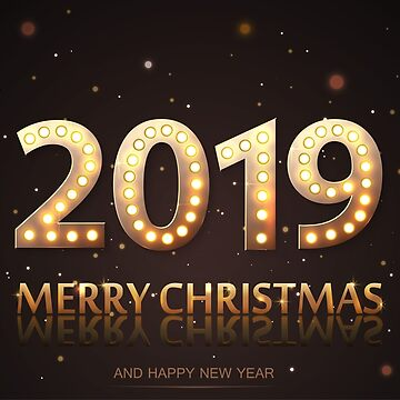 2019 Merry Christmas and Happy New Year.  by lantica