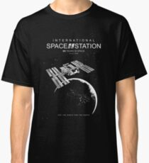 ISS-International Space Station-NSA-ESA-Soyuz-Space Shuttle-Astronomy-Science Classic T-Shirt