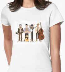 Mumford and sons Women's Fitted T-Shirt