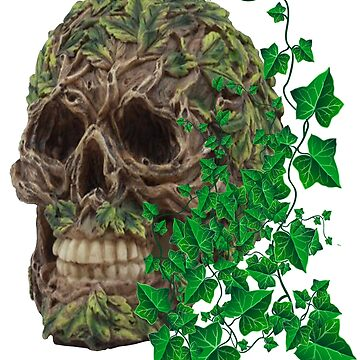 Unique Cool Tree Spirit Skull by Atteestude