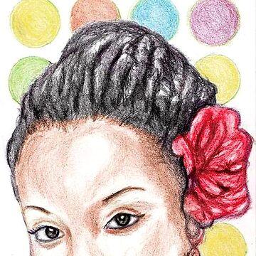 African Girl by Martstore