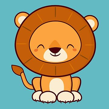 Kawaii Cute Lion Cat  by happinessinatee