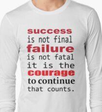 SUCCESS FAILURE Long Sleeve T-Shirt