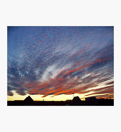 Mysterious Unusual Sky   Photographic Print