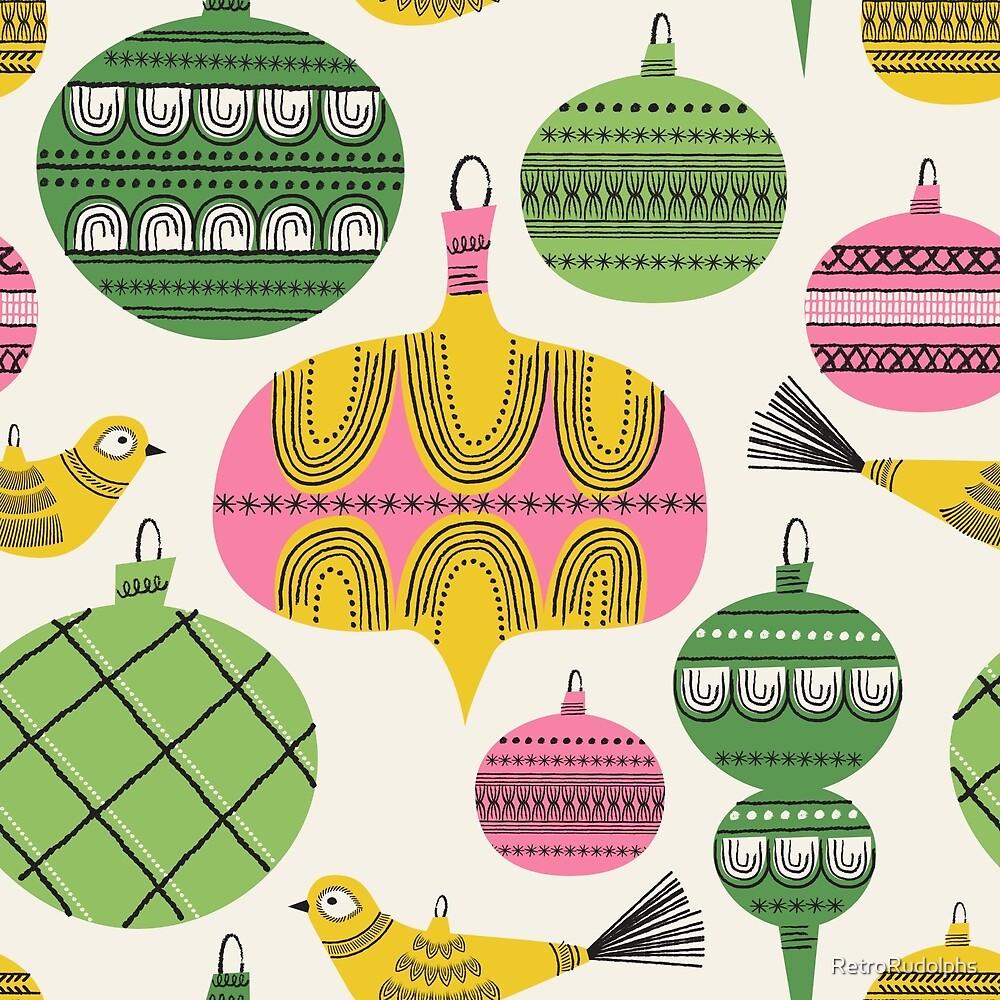Elegant Holiday Baubles ~ Festive Fun! by RetroRudolphs