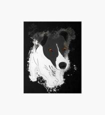 Dog funny glowing Art Art Board