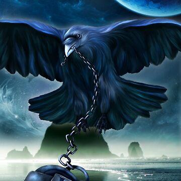 Raven Love by indigocrow