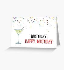 James Bond Geburtstagskarte, Meme Grußkarten Grußkarte