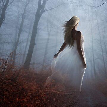 Lady In White by indigocrow