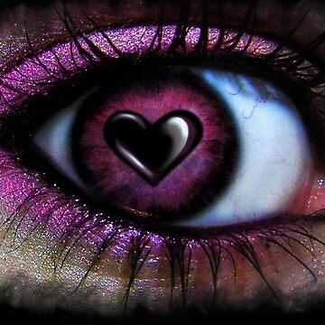 Eye Heart U by indigocrow
