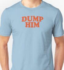 DUMP IHN - Britney Spears Mitteilungs-T-Stück Slim Fit T-Shirt