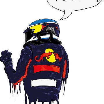 Angry Daniel Ricciardo by ICRDesigns