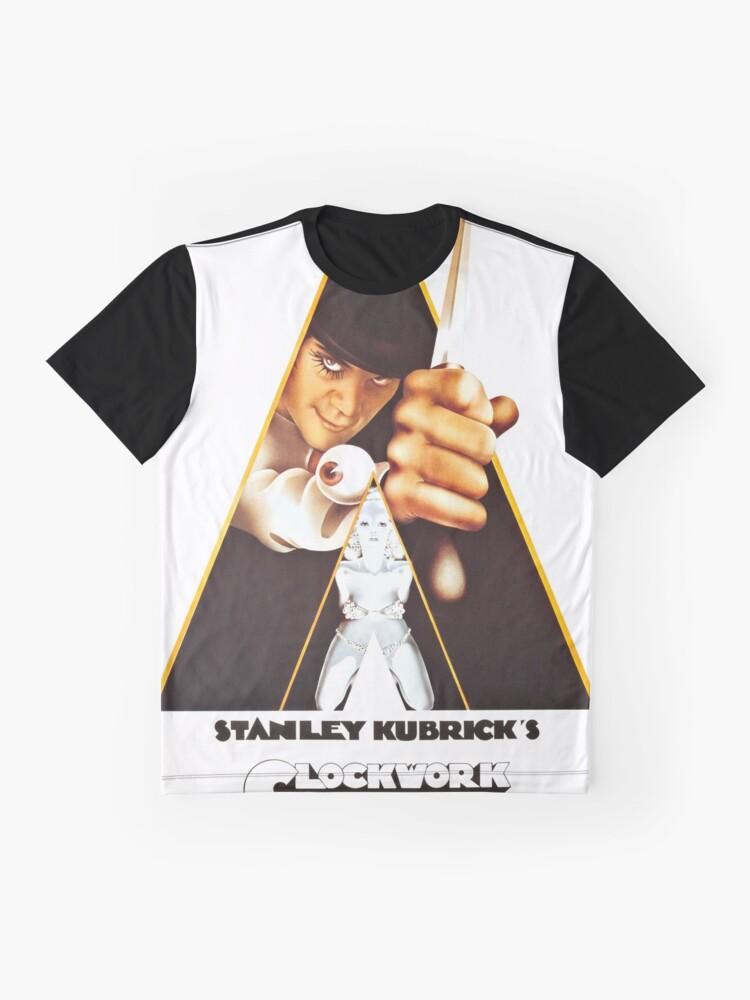 Alternate view of Vintage 1971 A Clockwork Orange, Posters, Movie, Retro Graphic T-Shirt