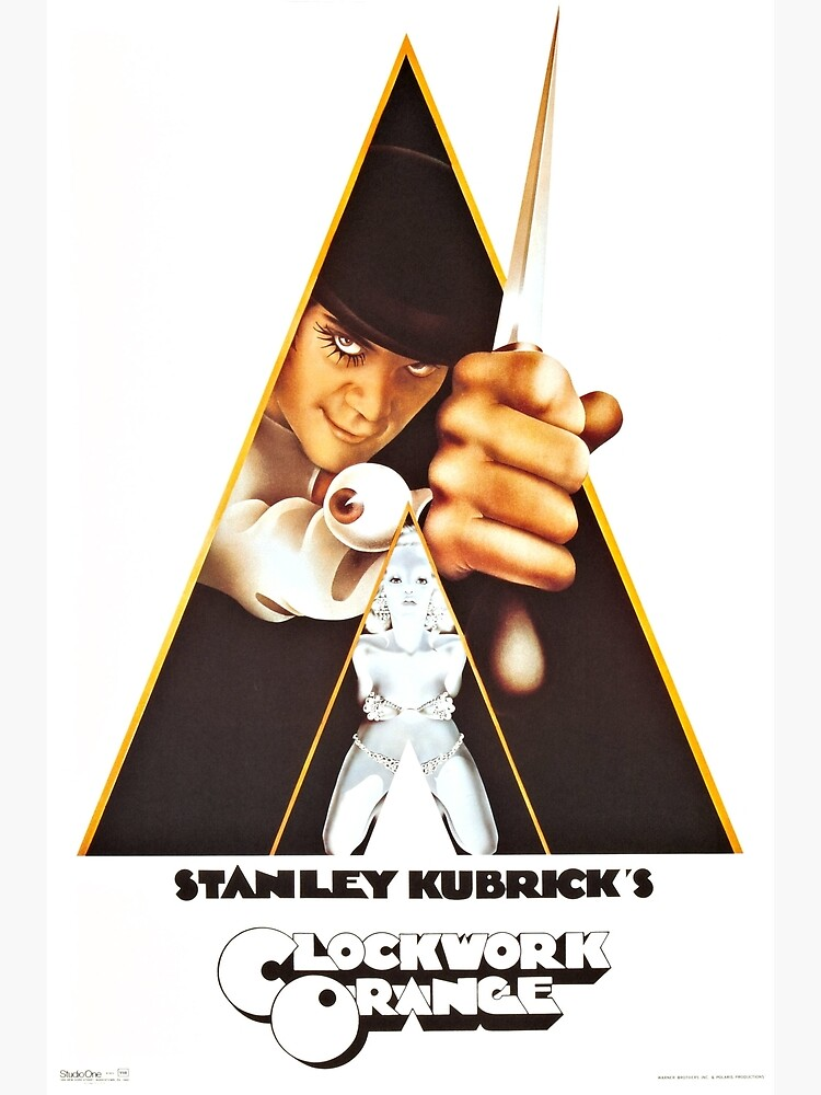 Vintage 1971 A Clockwork Orange, Posters, Movie, Retro by clothorama