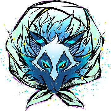 Cosmic Wolf Kosmo by astrayeah