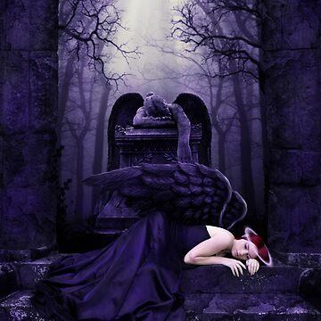 Lost Angel by indigocrow