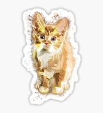 Cute pet glowing Art Sticker