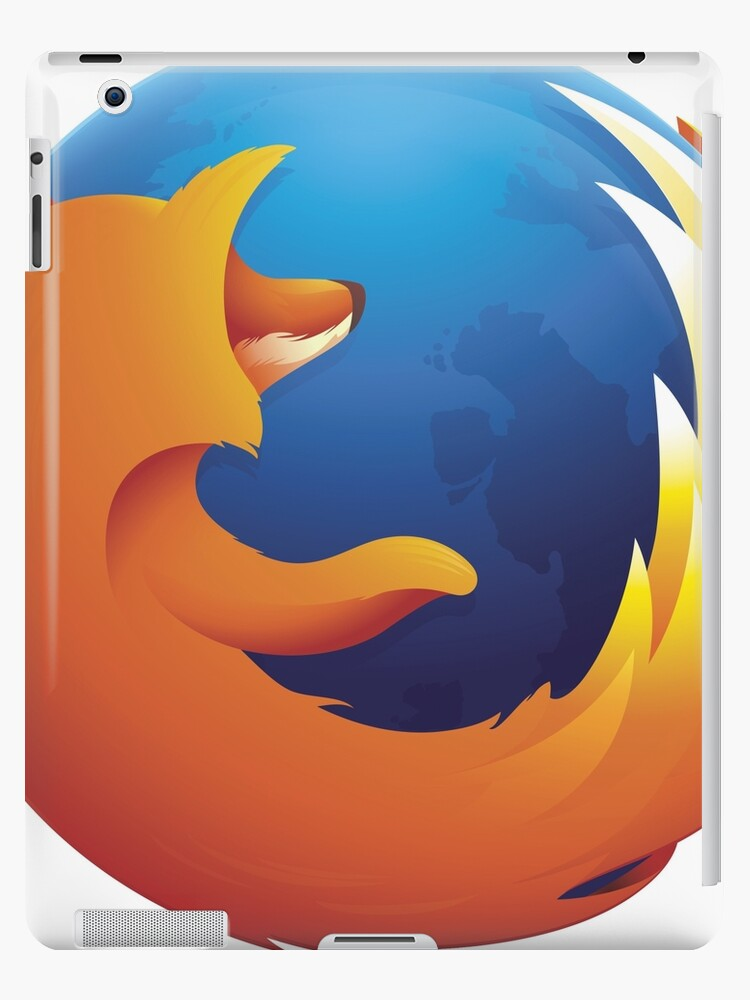 'Firefox Logo' iPad Case/Skin by kIINAMITE