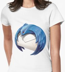 Thunderbird Logo Women's Fitted T-Shirt