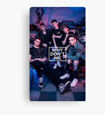 we dont we  Canvas Print