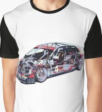 Road Racer Laid Bare Graphic T-Shirt