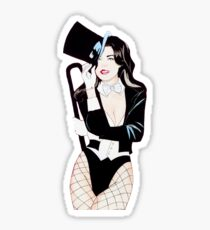 magic lady Sticker