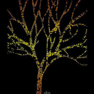 Tree of Life 102218 by mandalafractal