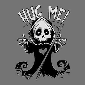 Halloween Hug Me Grim Reaper by talklfcpodcast